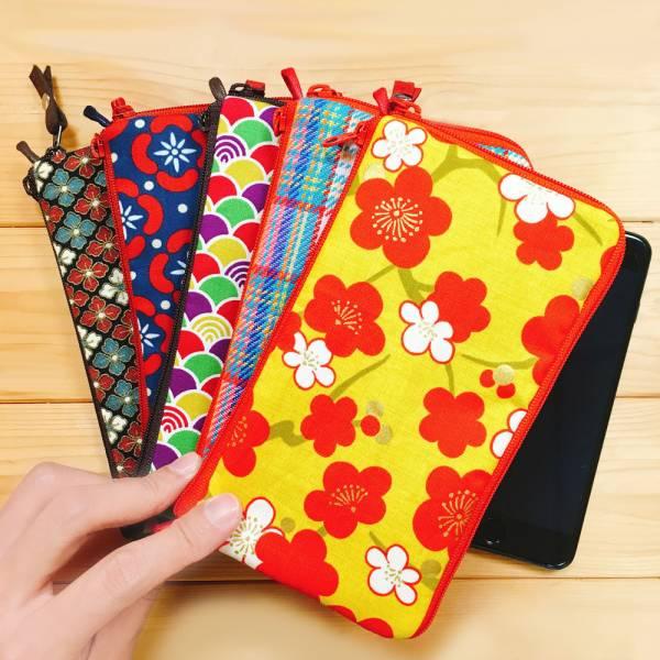 多功手機包 Plus & Max (客訂花色) 日本布 接單生產* 手機袋,phonebag,携帯カバー,手機包,隨身小包,手工包,包包,Purses,かばん,カバン,鞄,手作包,布包 ,handmadebag,バッグ,ポーチ,布小物,布小物雑貨