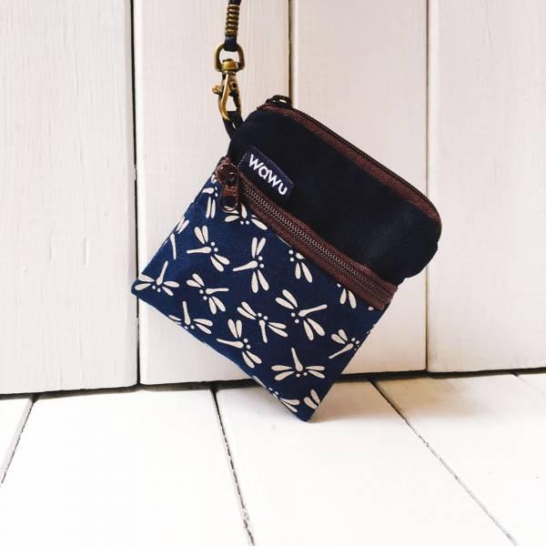 夾心吐司包 (日和蜻蜓)(附繩) 日布 接單生產* Wallet,カード,お釣り入れ,小銭入れ,細かい入れ,二つ折り財布,卡片包,夾心吐司包,財布,錢包,錢夾