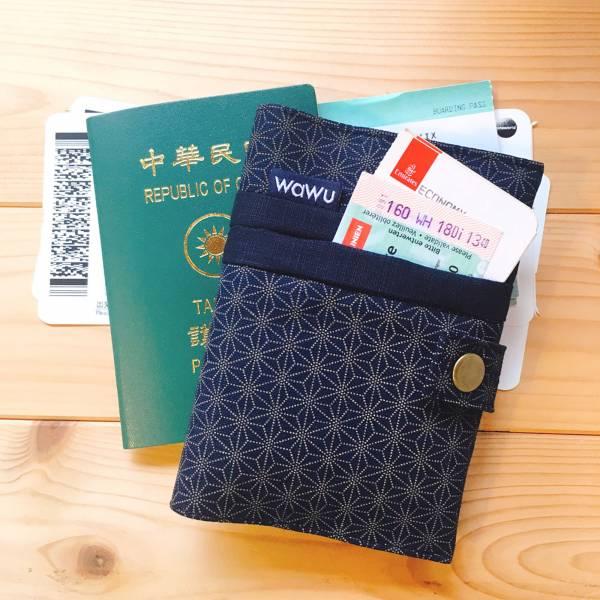 護照套+扣帶 (小葉柄)  接單生產* 護照套,passportcase,パスポートケース