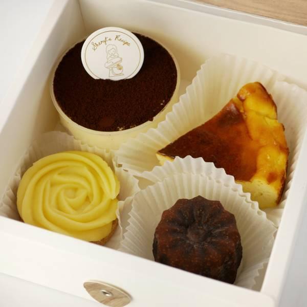 解憂甜點一週組合 提拉米蘇,巴斯克,法式甜點,手作甜點,宅配甜點,可麗露,達克瓦茲