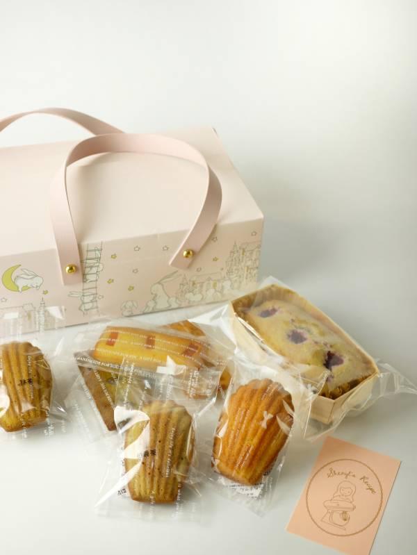 彌月禮盒 - 小兔皮質手提禮盒 彌月禮盒,常溫禮盒,彌月,懷孕,小孩,新生,禮盒