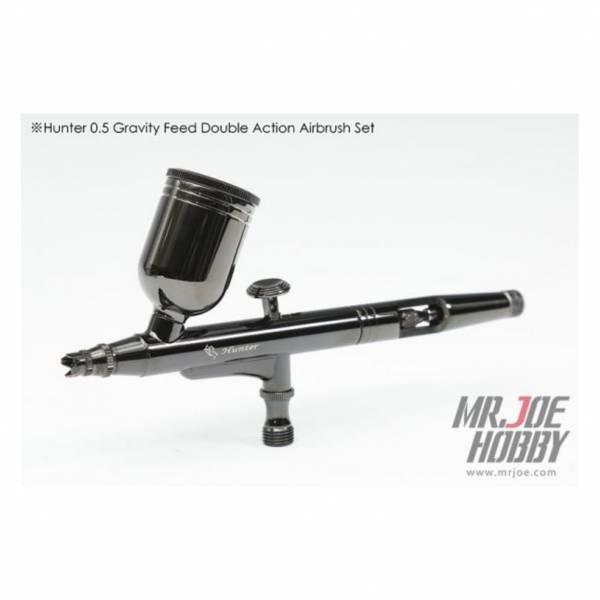 射手座 HUNTER 0.5mm 雙動式 噴筆 噴槍 高CP值噴筆 入門推薦