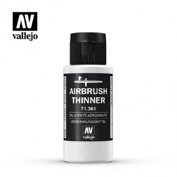 西班牙 Vallejo AV水性漆 Model Air 71361 噴槍稀釋液 60ml