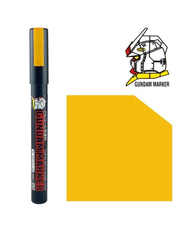 郡氏 GSI GM08P 鋼彈麥克筆 黃色 (袋裝)