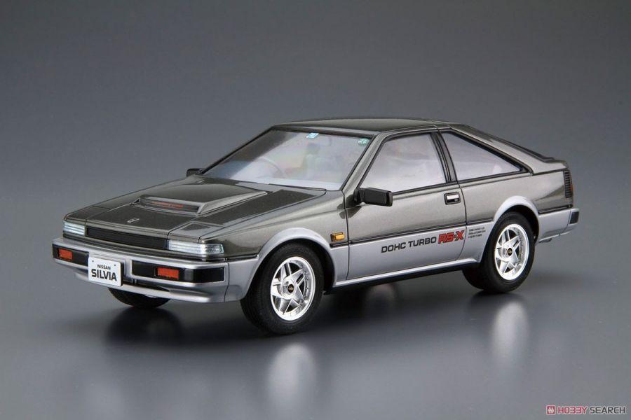 青島社 AOSHIMA 1/24 日產  #84 S12 Silvia/Gazelle Turbo RS-X '84 組裝模型