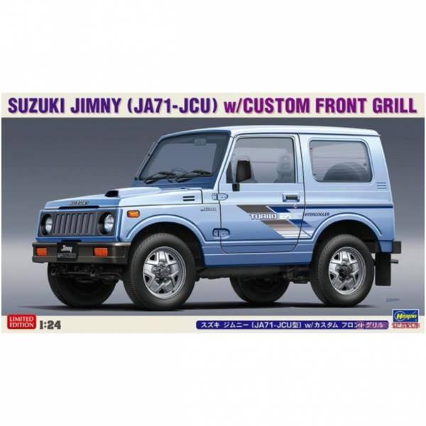 長谷川 HASEGAWA 1/24 汽車模型 #20509 鈴木汽車 JA71-JCU 帶前格柵吉普車 組裝模型 <限定生產>