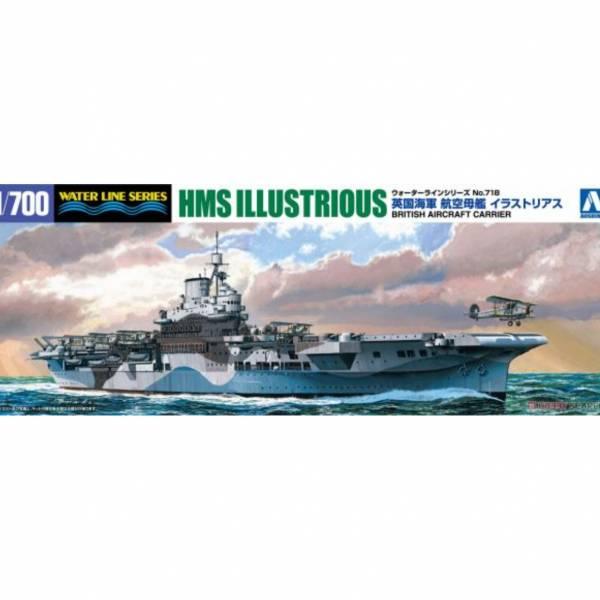 青島社 AOSHIMA  #051047 WL#718 英海航空母艦 光輝號 組裝模型