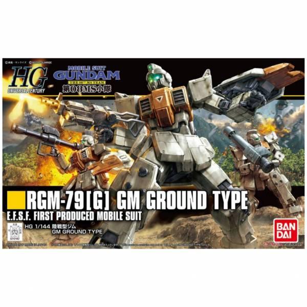 萬代 BANDAI HGUC 1/144 #202 RGM-79[G] 陸戰型吉姆