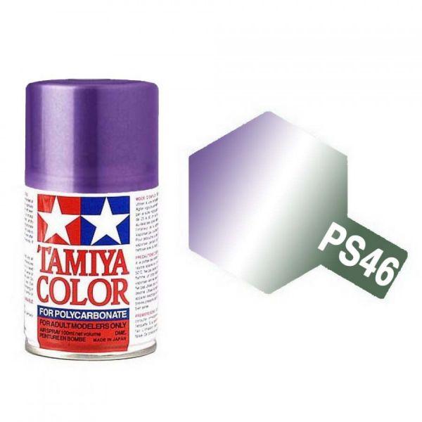 田宮 TAMIYA  PS-46 偏光紫/綠色 噴罐 (新配方 耐撞擊、高延展性 ) <硝基漆/100ml>