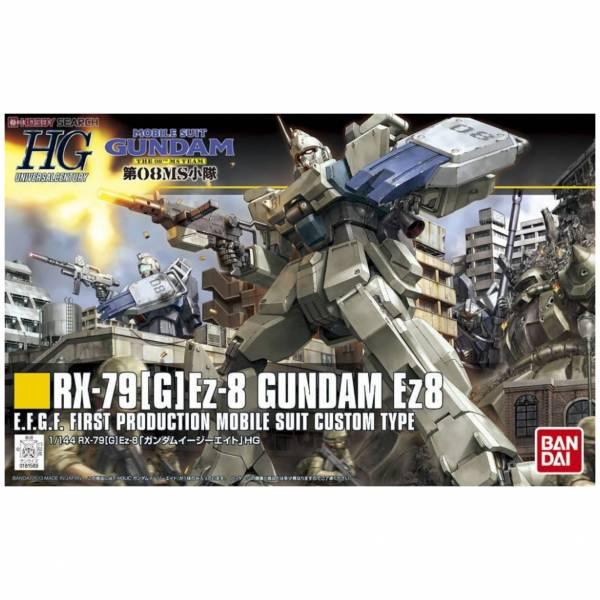 萬代 BANDAI 1/144 鋼彈模型 HGUC #155 鋼彈 Ez8 組裝模型