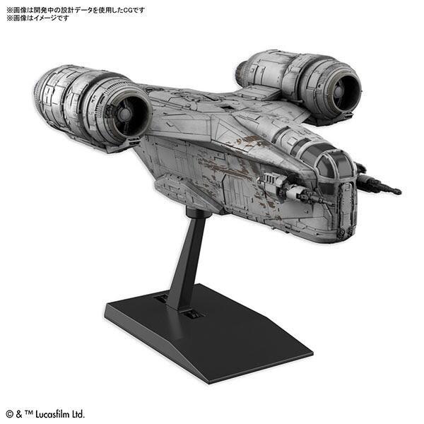 萬代 BANDAI 組裝模型 Vehicle Model 星際大戰 曼達洛人 刀鋒之巔