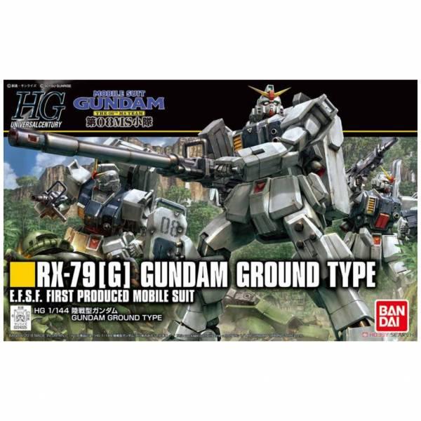 萬代 BANDAI 1/144 鋼彈模型 HGUC 210 陸戰型鋼彈 組裝模型