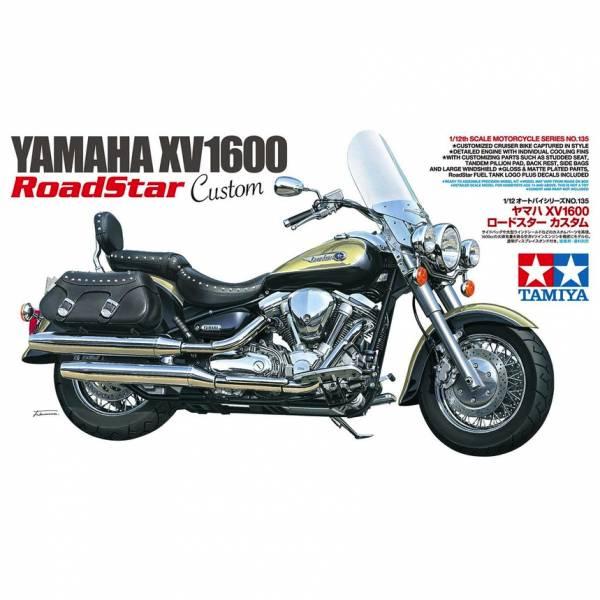 田宮 TAMIYA 1/12 機車模型 #14135 Yamaha XV1600 Road Star Custom 組裝模型