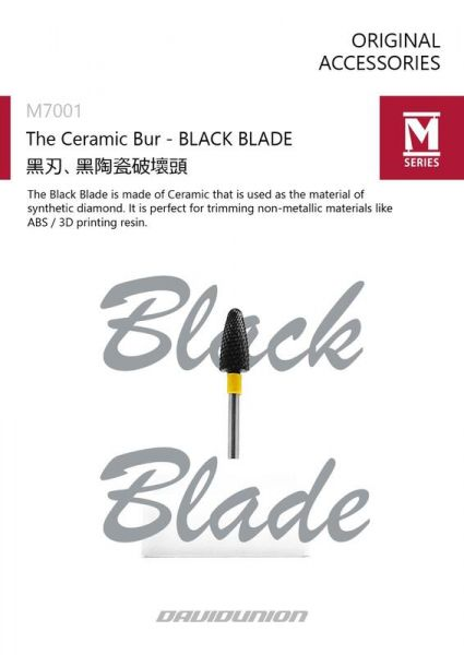 SERIES M7001 黑刃 黑陶瓷破壞頭