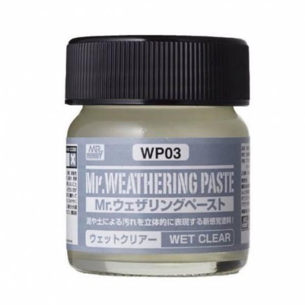郡氏 GSI WP03 擬真舊化膏 透明水漬 40ml <場景擬真材料>