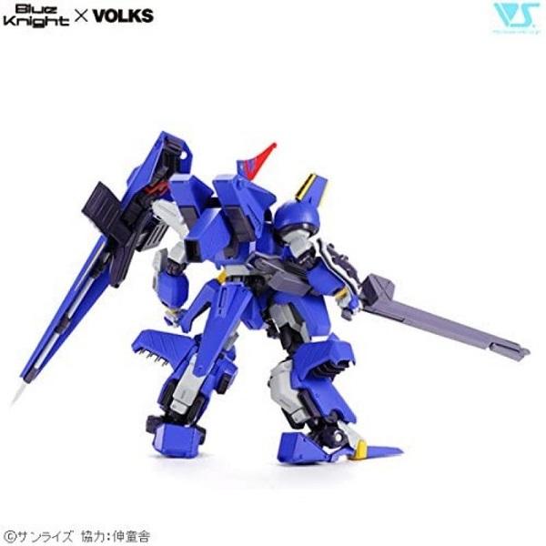 代理版 VOLKS 1/24 裝甲騎兵外傳 青之騎士 特斯塔羅薩 組裝模型