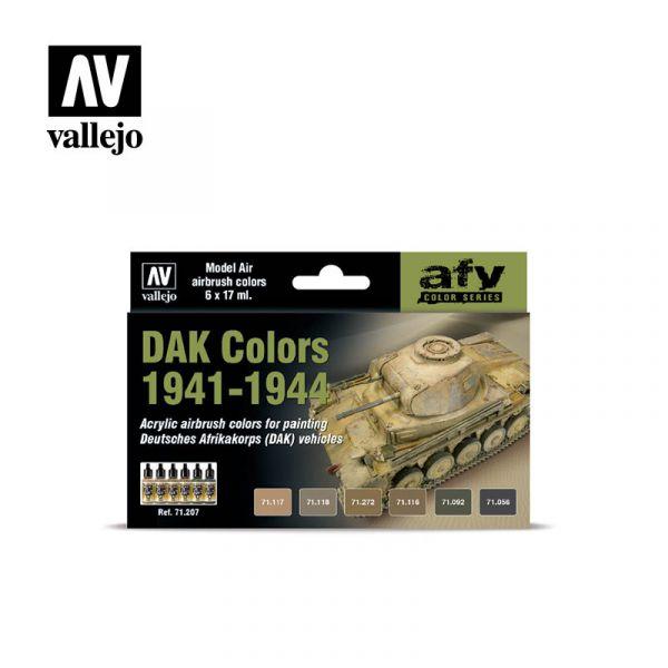 西班牙 Vallejo AV水性漆 Model Air 71207 - DAK Colors 1941-44 (6) - 17 ml