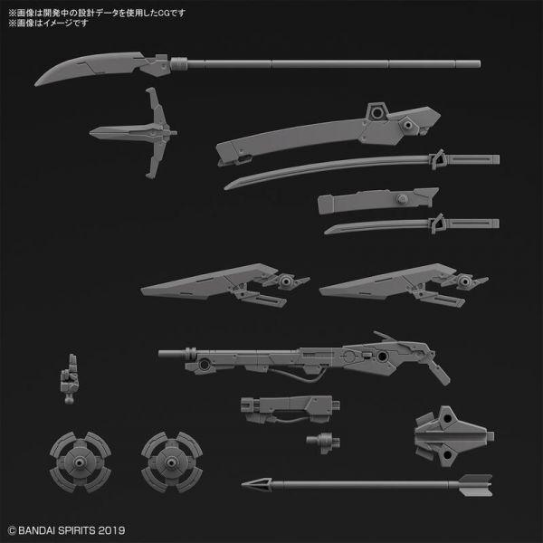 萬代 BANDAI 組裝模型 30MM 1/144 改裝用武器組 戰國武裝
