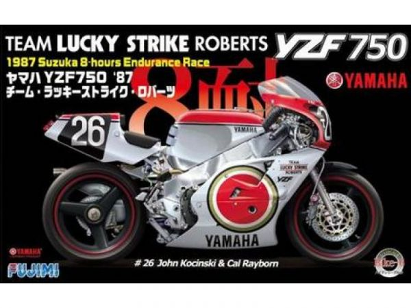 富士美 FUJIMI 1/12BIKE6 YAMAHA YZF750 LUCKY STRIKE ROBERT