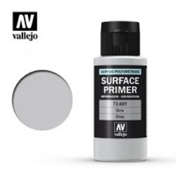 西班牙 Vallejo AV水性漆 Model Air 73601 Surface Primer 灰色 60ml