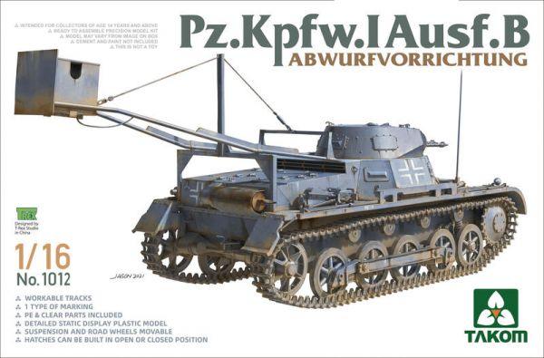 三花 TAKOM 1012 1/16 德軍 一號坦克 爆破車型
