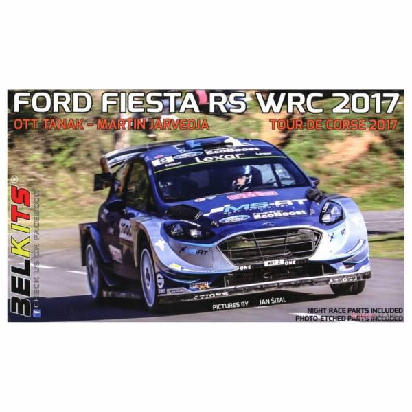 青島社 AOSHIMA 1/24 汽車模型  福特 RS WRC 環法2017 組裝模型