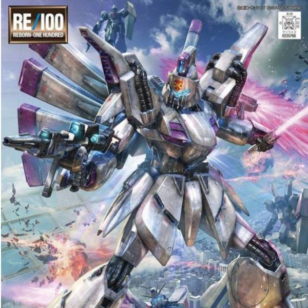 萬代 BANDAI RE 1/100 #009 鋼彈F91 XM-07 V IGNA-GHINA 比基納 基娜 鋼普拉,鋼彈,巴烏,RE 1/100,吉翁