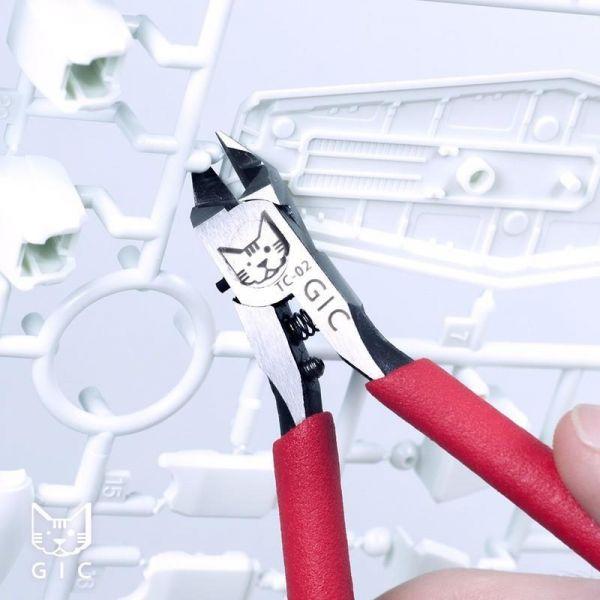 GiC TC-02 模型專用 虎爪2.0 超薄刃斜口鉗 <舊款虎爪>