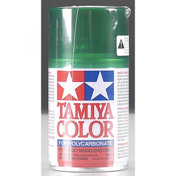 田宮 TAMIYA  PS-44 半透明綠色 噴罐 (新配方 耐撞擊、高延展性 ) <硝基漆/100ml>