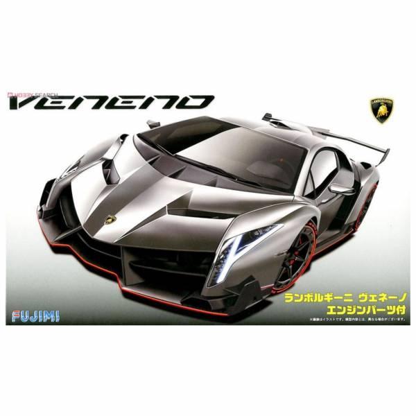 富士美 FUJIMI 1/24 #125923 RS94 Lamborghini Veneno 附引擎內構