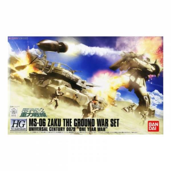 萬代 BANDAI HG 1/144 重力戰線 MS-06 薩克 THE GROUND WAR