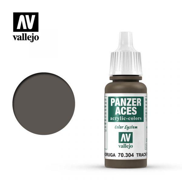Acrylicos Vallejo - 70304 - 裝甲王牌 Panzer Aces - 履帶底色 Track Primer - 17 ml.