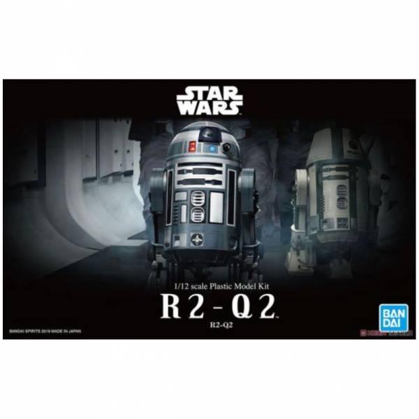 萬代 BANDAI 1/12 星際大戰 R2-Q2 組裝模型 <現貨>