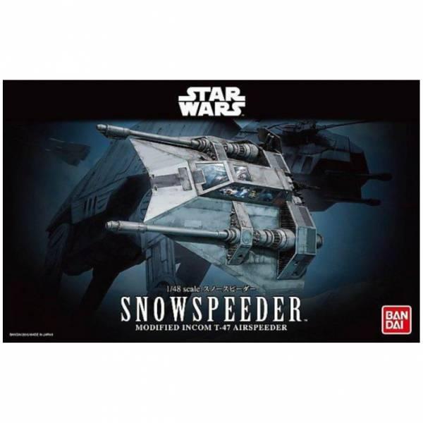 萬代 BANDAI 1/48 星際大戰 雪地戰機 組裝模型
