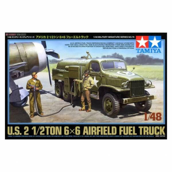 田宮 TAMIYA 32579 1/48 MM No.79 美國2.5噸 6*6 飛機油罐車 組裝模型