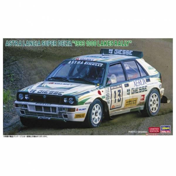 長谷川 HASEGAWA 1/24 汽車模型 #20507 阿斯特拉蘭西亞 超級三角洲 1993年千島湖賽事樣式 組裝模型 <限定生產>
