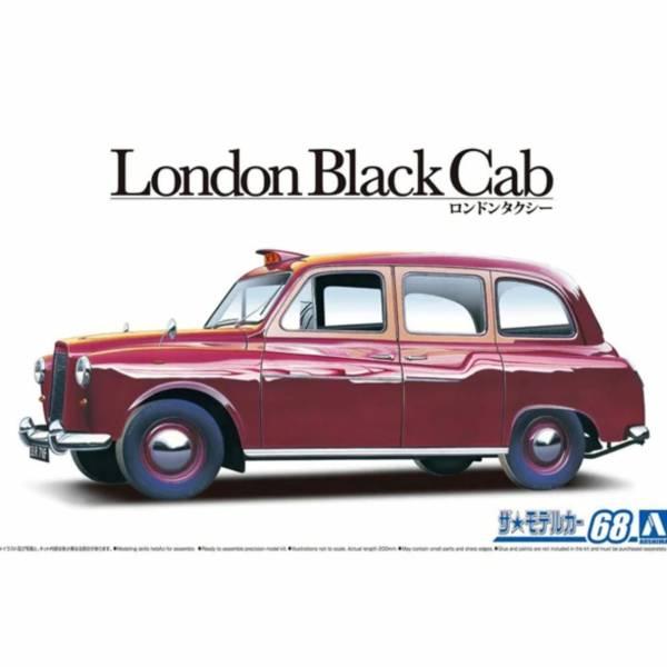 代理版 AOSHIMA 青島 1/24 FX-4 倫敦出租車 組裝模型