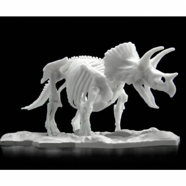 預購10月 萬代 BANDAI 組裝模型 三角龍 恐龍組裝模型 LIMEX LIMEX骨骼 恐龍骨骼