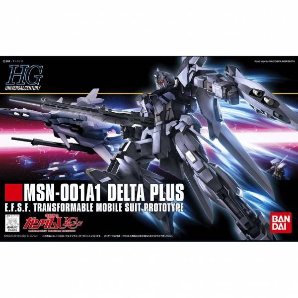 萬代 BANDAI 1/144 鋼彈模型 HGUC #115 DELTA PLUS 組裝模型