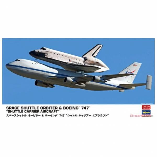 Hasegawa 長谷川 1/200 太空梭軌道器&波音747 Farewell