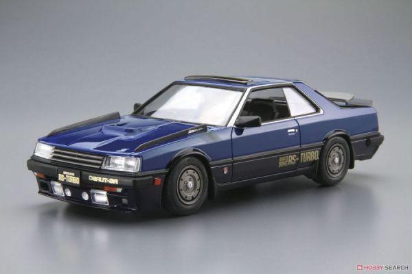 青島社 AOSHIMA 1/24 日產 Nissan '83 DR30 Skyline RS 組裝模型