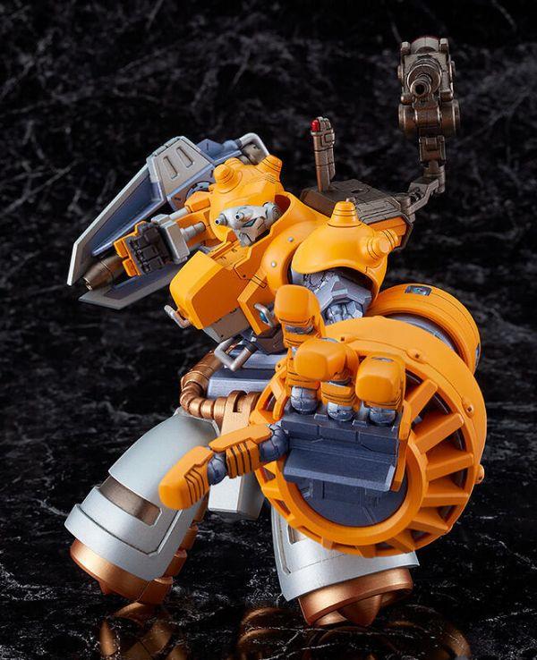 預購22年2月 GSC MODEROID B‧Riot 裝甲戰士 Cyberbots 組裝模型