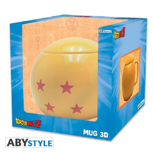 ABY STYLE 七龍珠 龍珠 3D造型馬克杯