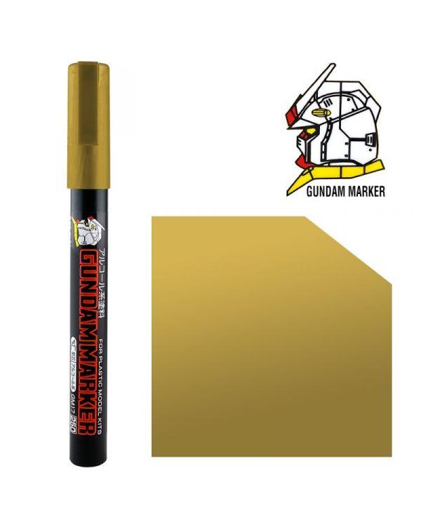 郡氏 GSI GM04P 鋼彈麥克筆 金色 (袋裝)