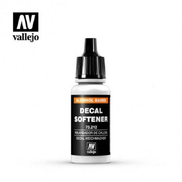 西班牙 Vallejo AV水性漆 Mecha Color 73212 輔助溶劑-貼紙軟化劑  17ml