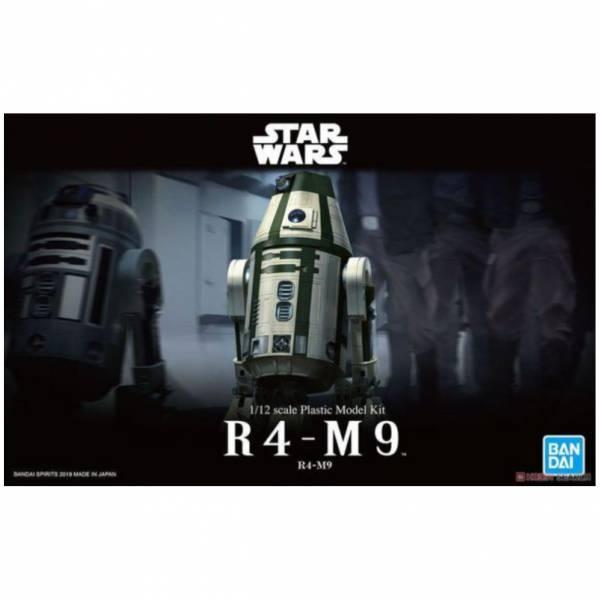 萬代 BANDAI 1/12 星際大戰 R4-M9 組裝模型