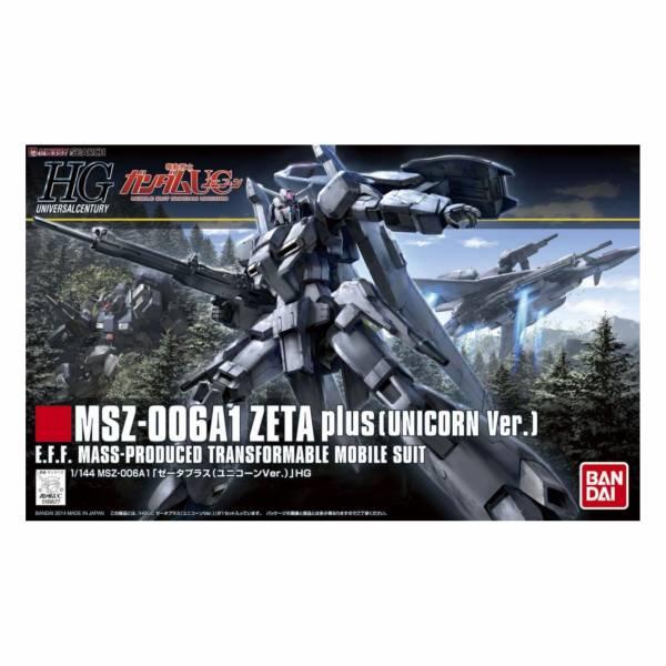 萬代 BANDAI 1/144 鋼彈模型 HGUC #182 ZETA PLUS (鋼彈UC Ver.)組裝模型