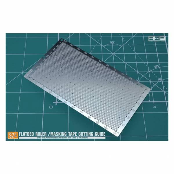 預購8月 鋼魂 AW S024 金屬蝕刻片 遮蓋膠帶型板
