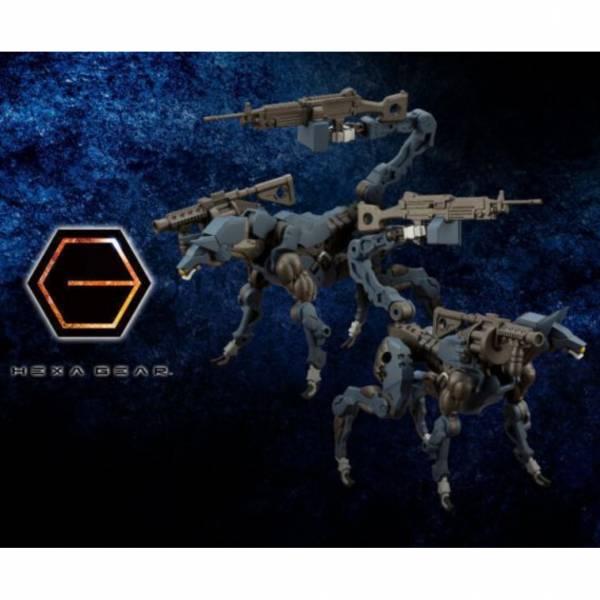 預購12月 壽屋 1/24 Hexa Gear六角機牙 犬形潛行偵察器 陸戰特化機種 組裝模型