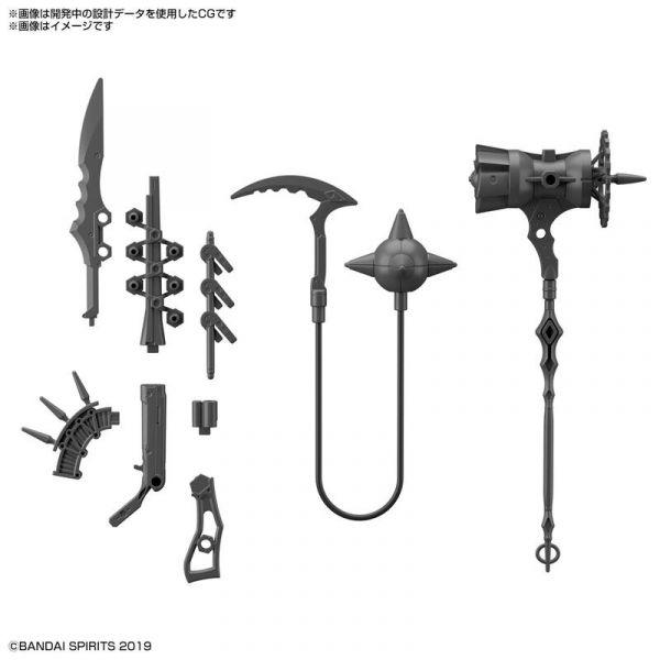 預購11月 萬代 BANDAI 組裝模型 改裝用武器組 (奇幻武器)